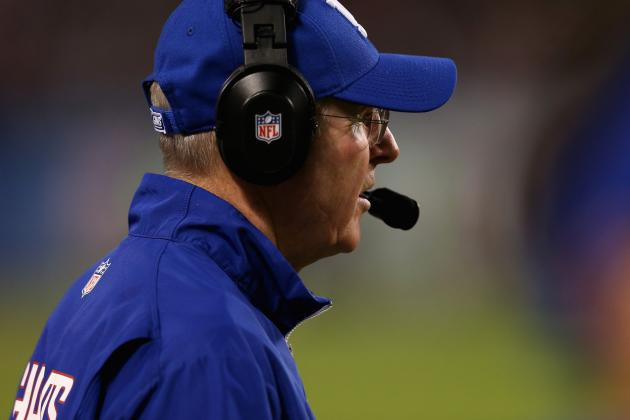 Tom Coughlin Pleased with NY Giants Win, but Knows Eagles Are Now Focus