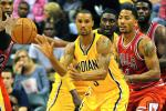 Pacers' George Hill Fires Back at D-Rose