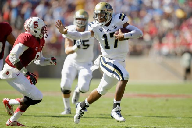 Can Brett Hundley Steal Heisman from Marcus Mariota in Head-to-Head Showdown?