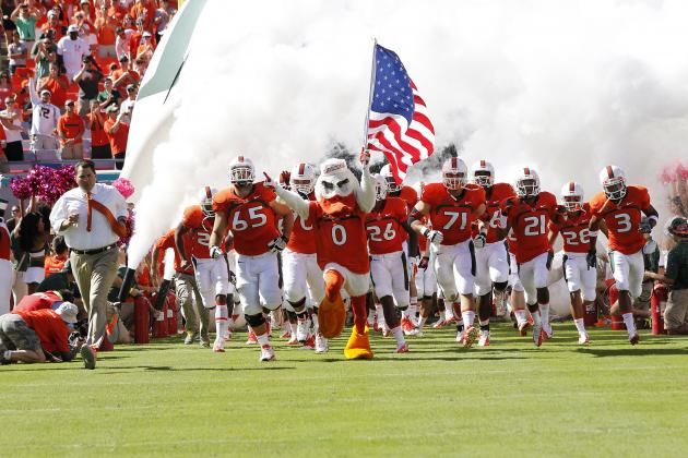 Miami Sanctions Won't Negatively Affect Hurricanes' Football Program