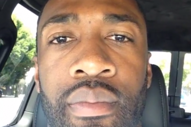 Gilbert Arenas Screams at Nick Young, Reminds Us All Not to Drive and Instagram