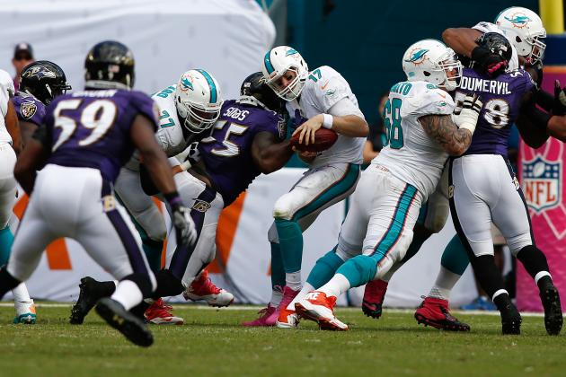 Report: NFL Admits Penalty Error in Miami's Loss to Ravens