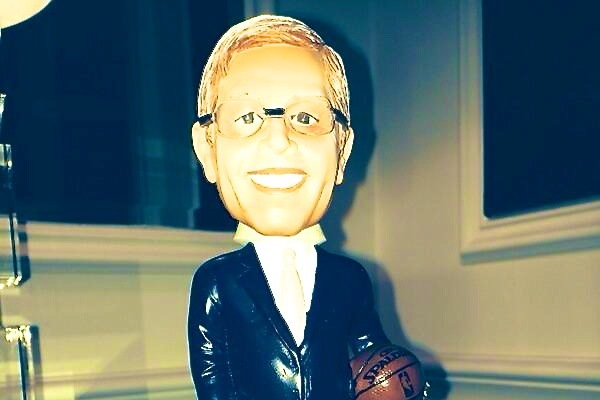 David Stern Had a Bobblehead Made in His Likeness for His Retirement Dinner