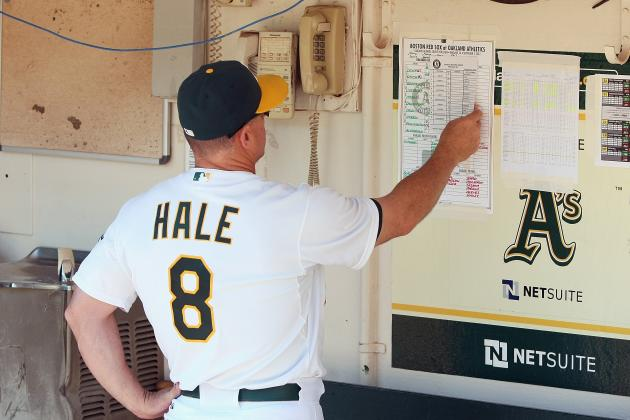 Report: Mariners to Interview A's Bench Coach Hale