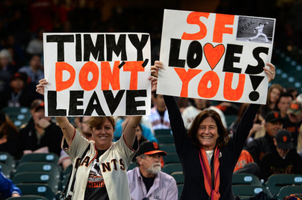 Tim Lincecum Contract: You Can't Put a Price on Love