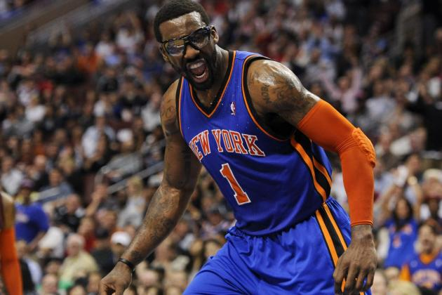 Amar'e, J.R. Thrilled with Progress After First Scrimmage