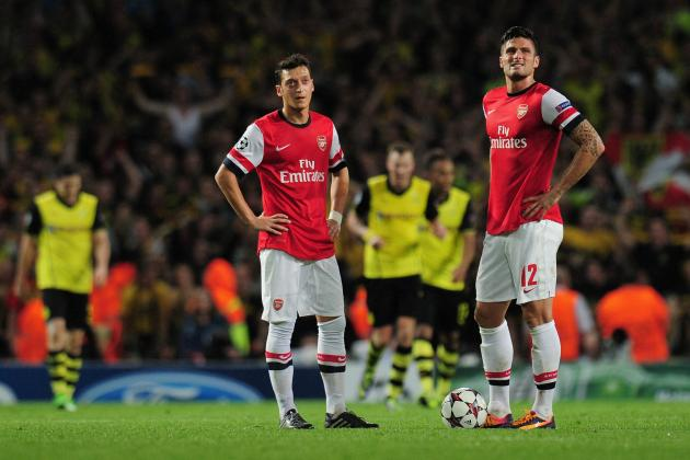 Arsenal 1-2 Borussia Dortmund: Talking Points from a Sobering Gunners Defeat