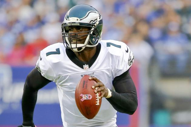 Vick, Barkley Both Taking First Team Reps with Foles Unable to Practice
