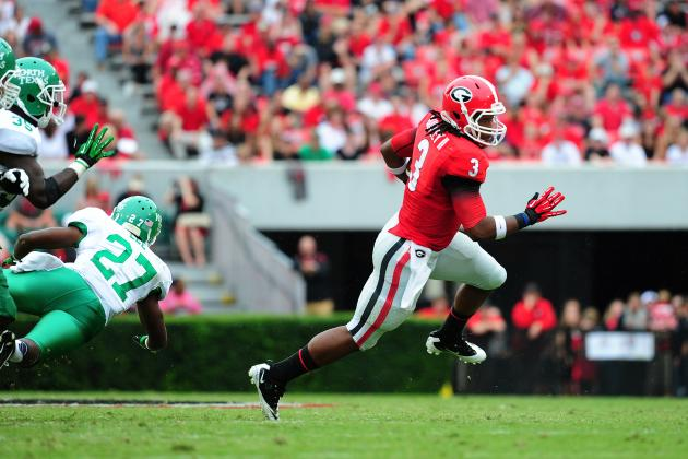 Explosive Plays Missing in Georgia Offense