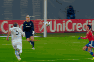 GIF: Ex-Manchester United Man Zoran Tosic Scores for CSKA Moscow vs. Man City