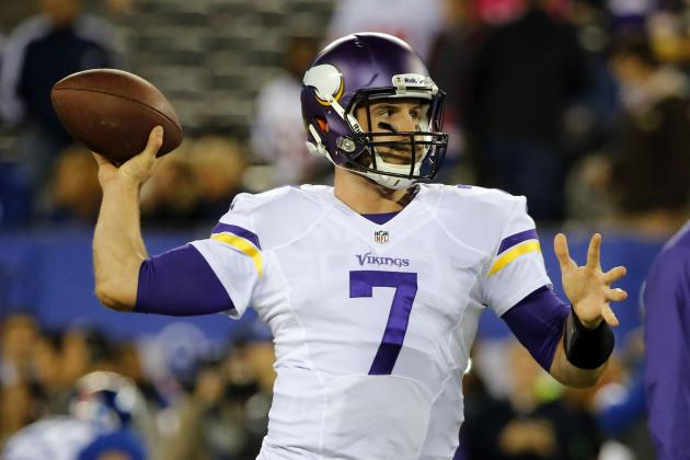 Christian Ponder's Updated Fantasy Value After Josh Freeman's Injury