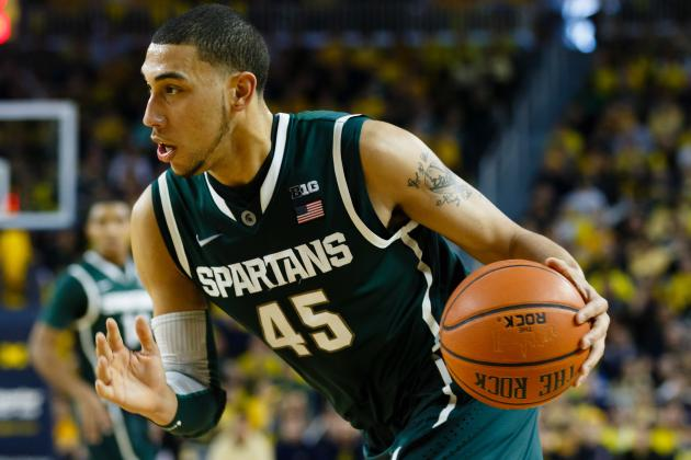 Michigan State Basketball: Is Spartans' 2013-14 Backcourt Tom Izzo's Best Ever?