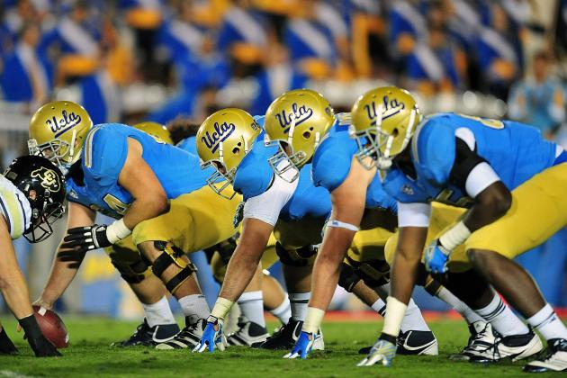 UCLA Offensive Line Likely to Start Three True Freshmen