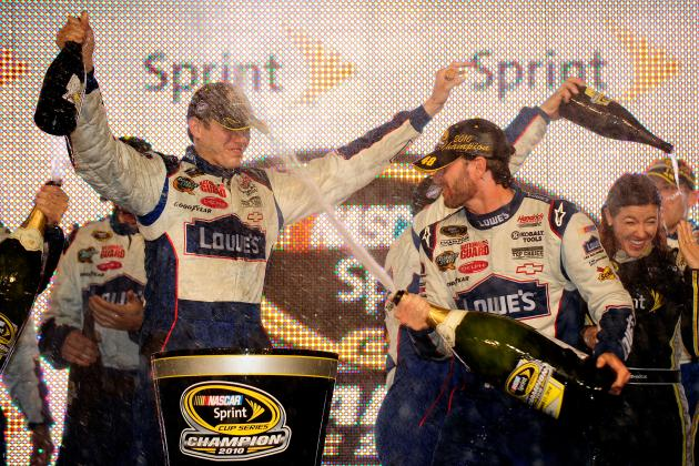 Jimmie Johnson's Blueprint to Earn 6th Career Sprint Cup Title in 2013