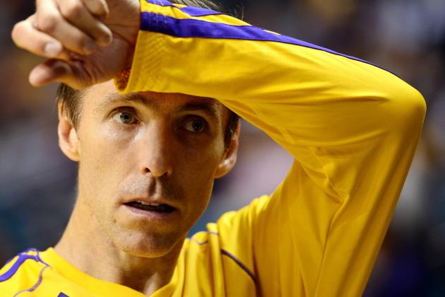 It's Officially Time for LA Lakers to Panic About Aging Steve Nash