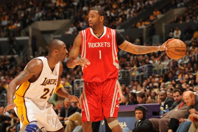 Tracy McGrady Pities Kobe After Watching Lakers Struggle in Person