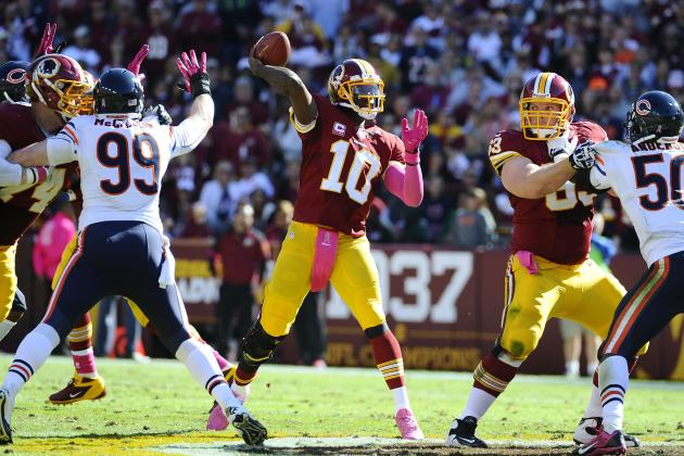 What to Expect from Robert Griffin III, Redskins Offense in Week 8 Matchup