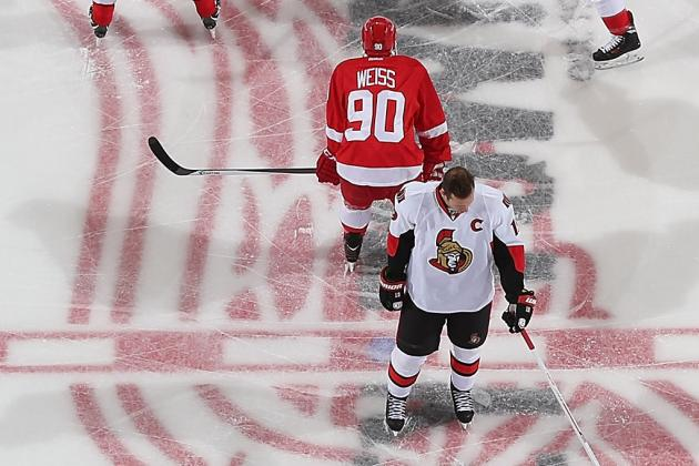 ESPN Gamecast: Senators vs. Red Wings
