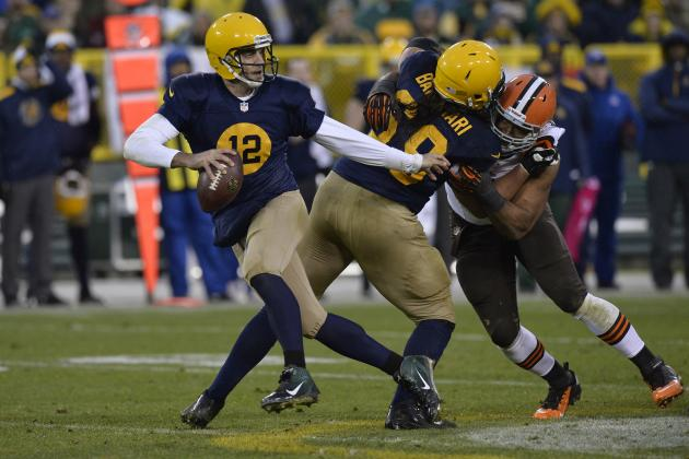 Rankings Don't Tell Whole Story About Packers Rookie LT David Bakhtiari