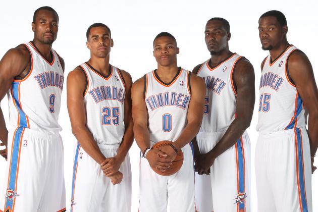 Oklahoma city thunder roster 2012