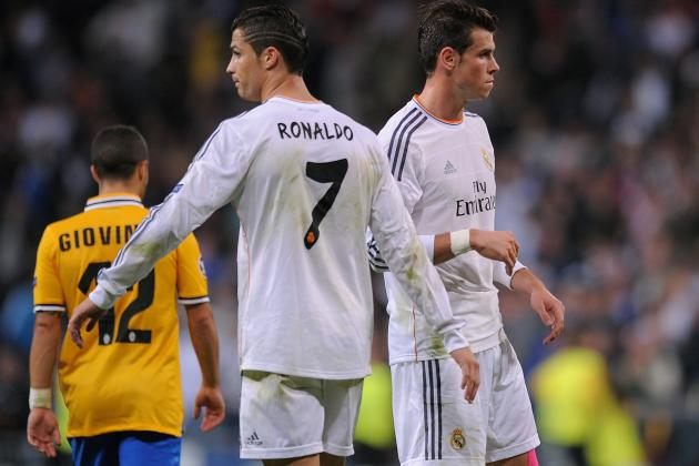 Gareth Bale Fit for Barcelona and in Awe of Cristiano Ronaldo at Real Madrid