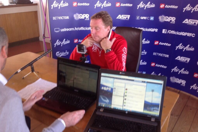 Harry Redknapp Trolled on #AskHarry Hashtag in QPR Twitter Event