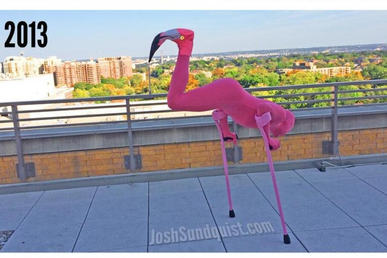 Paralympian Josh Sundquist Is Back with Another Awesome Halloween Costume
