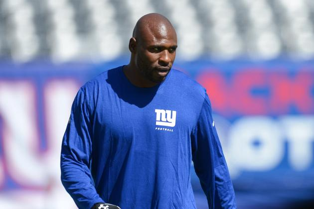 Don't Talk to Brandon Jacobs About Fantasy Football