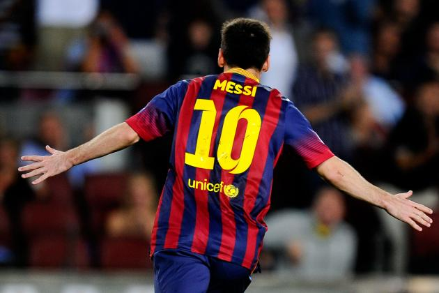 Analysing Lionel Messi's Positional Play and Movement off the Ball