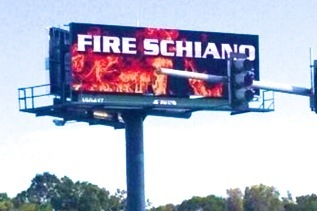 'Fire Schiano' Billboards Now Up in Tampa