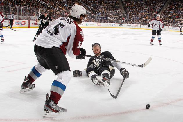 Avalanche's Nate Guenin Took Long, Hard Road to Reach NHL