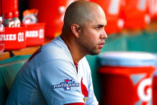 Carlos Beltran Injury: Updates on Cardinals Star's Ribs, Likely Return Date