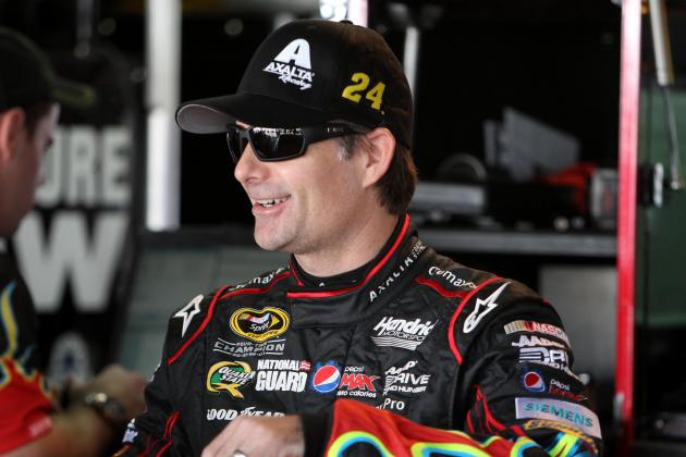 NASCAR Race Hub: Jeff Gordon Interview
