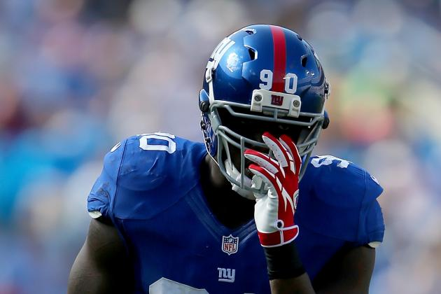 Jason Pierre-Paul: I Won't Be 100 Percent Until Next Season