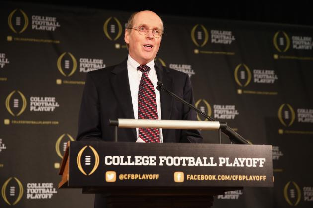 College Football Playoff Selection Committee Will Release Only 4 Rankings