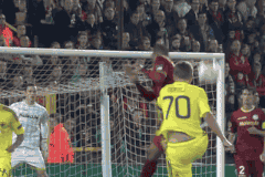 GIF: Ales Mertelj Hits Sweet Volley for NK Maribor