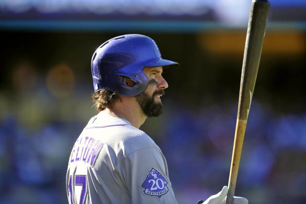 Colorado Rockies 2013 Grades: Todd Helton