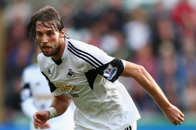 GIF: Michu Finishes Nice Move for Swansea City Goal Against Kuban Krasnodar