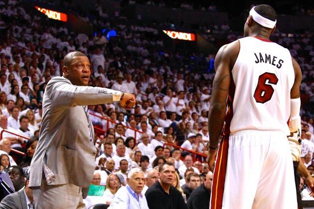 Doc Rivers Fires Back at LeBron, Defends Garnett and Pierce Leaving Celtics