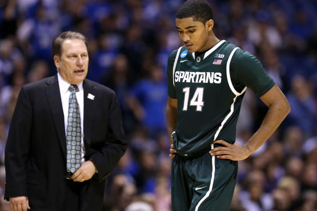 Michigan State's Gary Harris Has Bulked Up to Protect Against Injuries