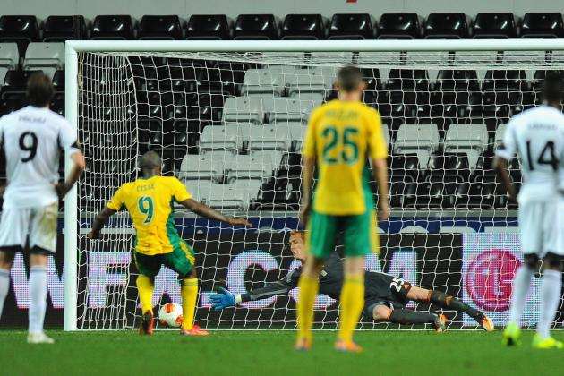 GIF: Kuban Krasnodar Claim Draw at Swansea with Late Penalty