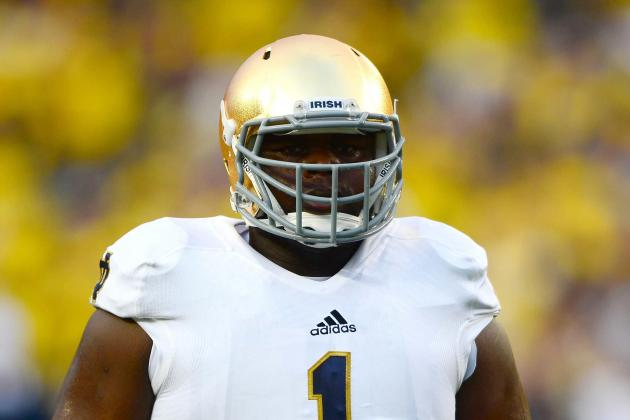 Notre Dame DT Louis Nix out for Air Force Game with Shoulder Injury