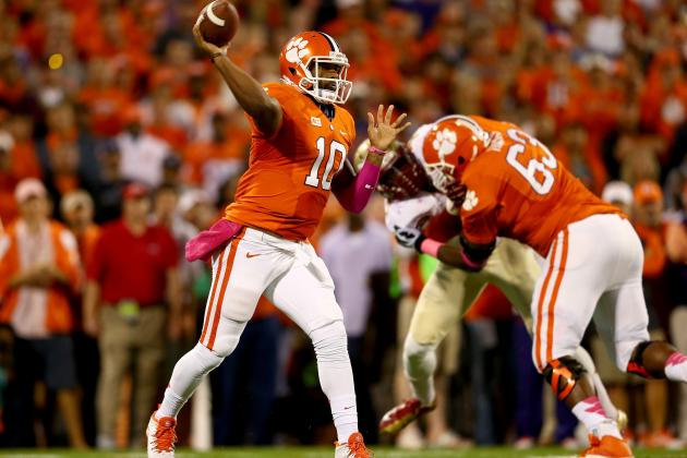 Clemson Football: What Tigers Must Do to Fix Offensive Struggles