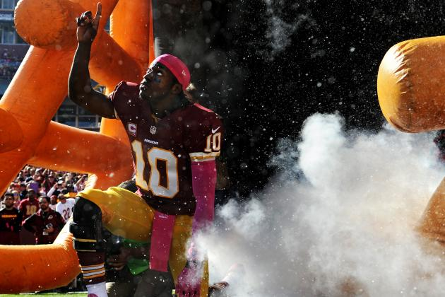 Robert Griffin III's Resurgence in Week 7 Makes Redskins NFC East Favorites