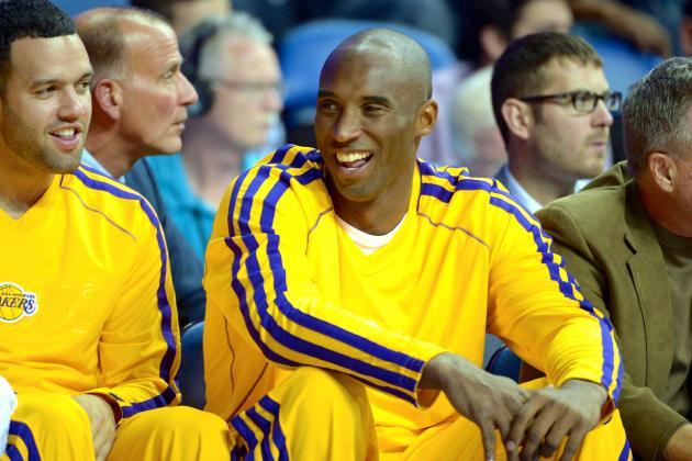 Kobe Bryant Says Anyone Who Believes He's No. 25 NBA Player 'Needs Drug Testing'
