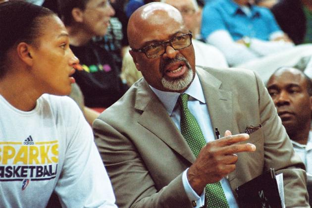 Former L.A. Sparks Assistant Jim Lewis as Keith Brown's Interim Replacement
