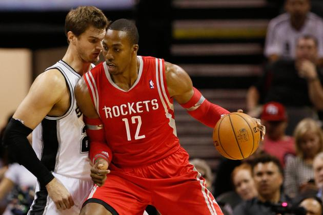 Dwight Howard Throws Down Monster Dunk Against Spurs