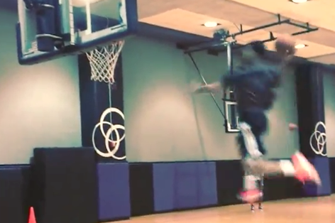 Gerald Green Keeps Showing off His Hops After Practice