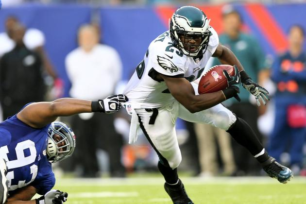 What to Expect from LeSean McCoy, Philadelphia Eagles Offense in Week 8 Matchup