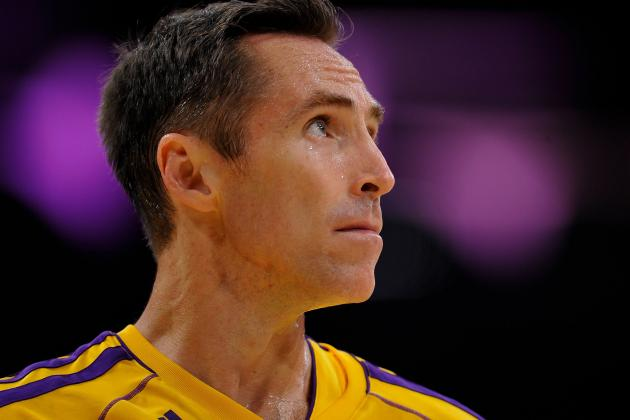 Steve Nash Conceding Challenges with Staying Healthy